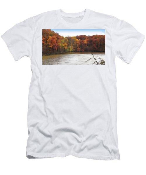 Sauk Lake Autumn Men's T-Shirt (Athletic Fit)