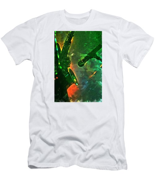 Sax Man Men's T-Shirt (Athletic Fit)