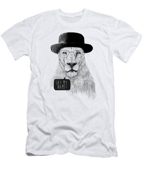 Say My Name Men's T-Shirt (Athletic Fit)