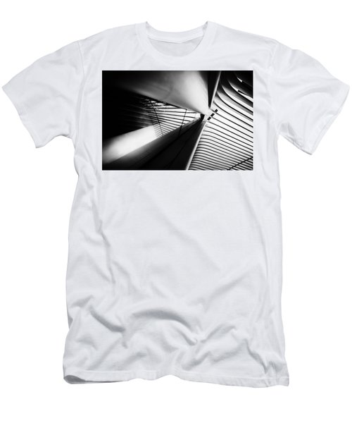 Men's T-Shirt (Athletic Fit) featuring the photograph Scale Out by Johnny Lam