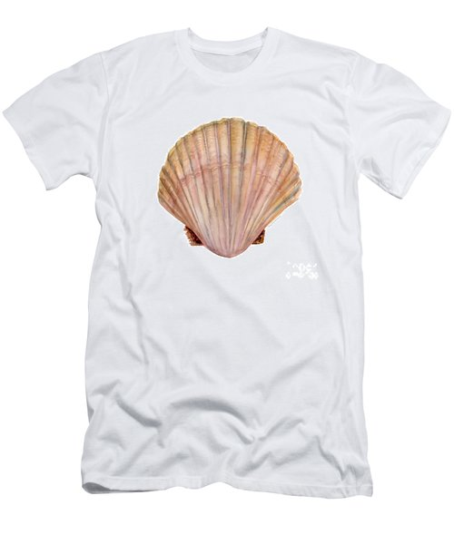 Scallop Shell Men's T-Shirt (Athletic Fit)