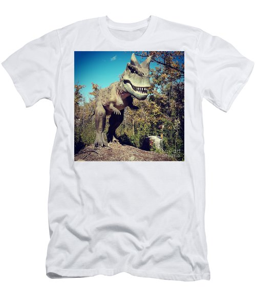 Scary Carnotaurus Men's T-Shirt (Athletic Fit)