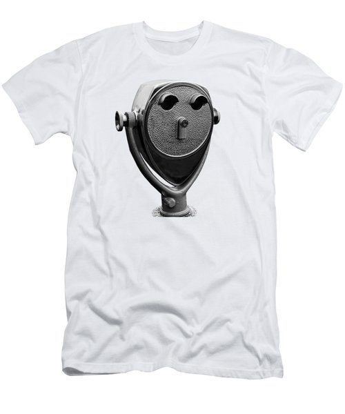 Scenic Coin-op Viewer Tee Men's T-Shirt (Athletic Fit)