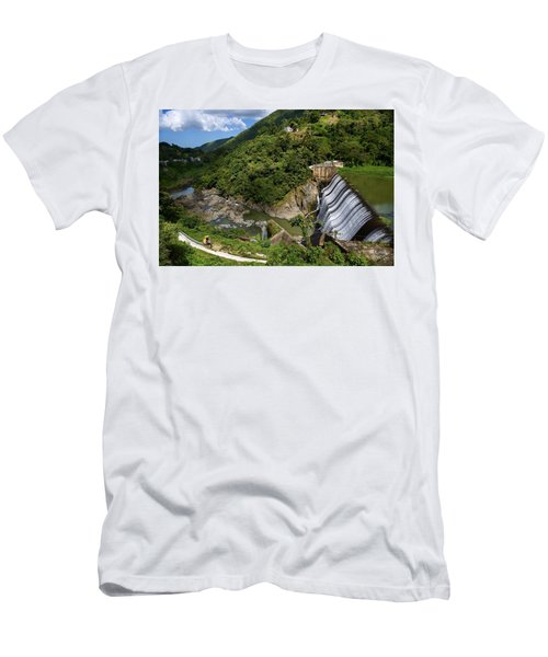 Scenic Puerto Rico  Men's T-Shirt (Athletic Fit)