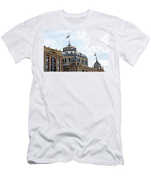 Scheveningen Kurhaus Men's T-Shirt (Athletic Fit)