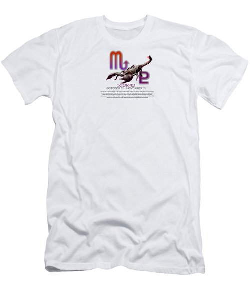 Scorpio Sun Sign Men's T-Shirt (Athletic Fit)
