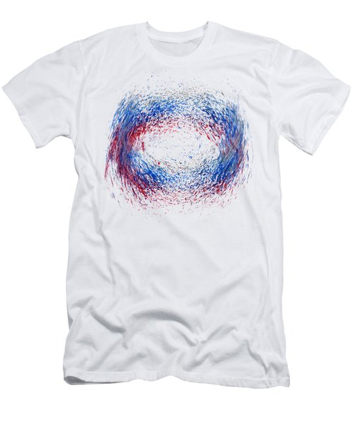 Scrubbed Around Men's T-Shirt (Slim Fit) by Lori Kingston