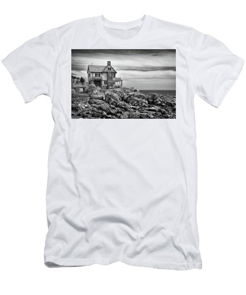Sea Overlook Men's T-Shirt (Athletic Fit)