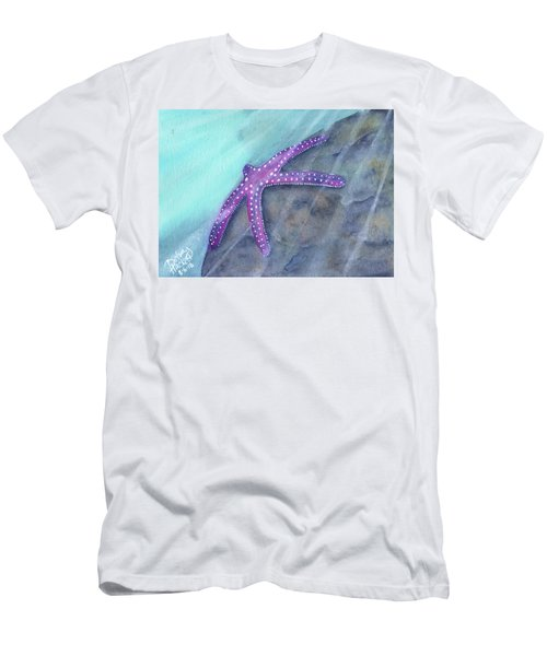 Sea Star Rays Men's T-Shirt (Athletic Fit)