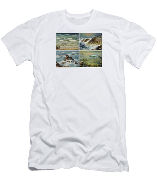 Sea Symphony. Part 1,2,3,4. Men's T-Shirt (Athletic Fit)