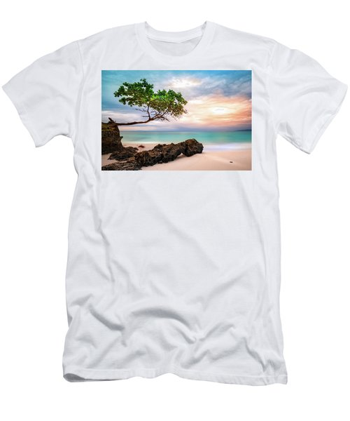 Seagrape Tree Men's T-Shirt (Athletic Fit)