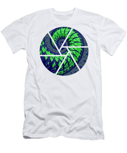 Seahawks Spiral Men's T-Shirt (Athletic Fit)