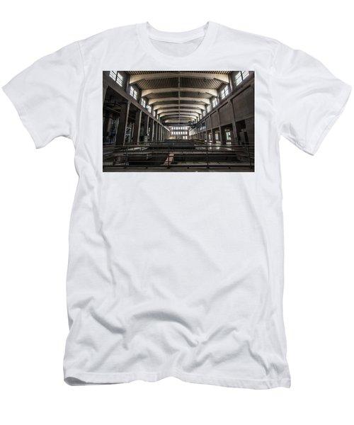 Seaholm Power Plant Men's T-Shirt (Athletic Fit)
