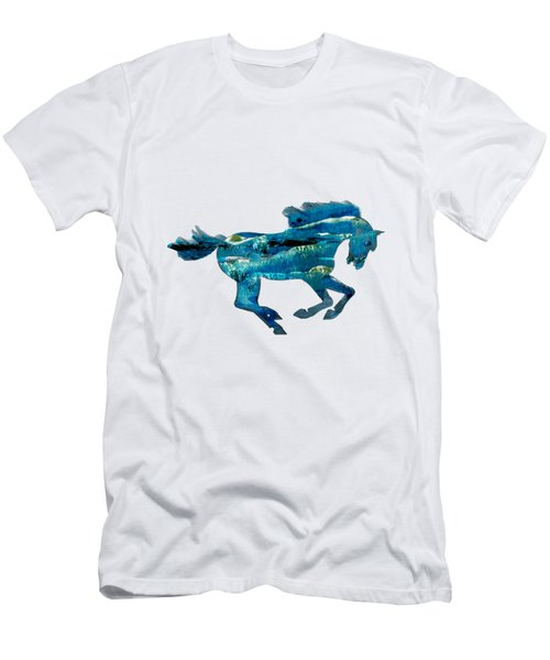 Seahorse By V.kelly Men's T-Shirt (Athletic Fit)