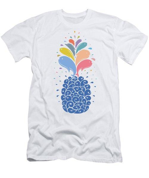 Seapple Men's T-Shirt (Athletic Fit)