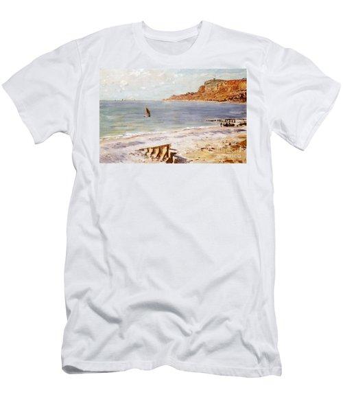 Seascape At Sainte Adresse  Men's T-Shirt (Athletic Fit)
