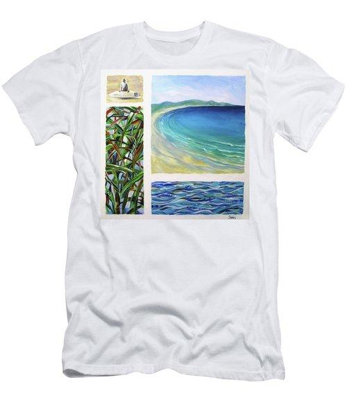 Seaside Memories Men's T-Shirt (Slim Fit) by Chris Hobel