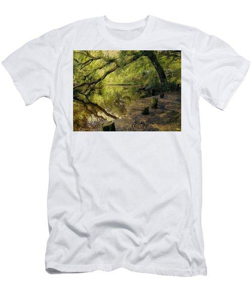 Secluded Sanctuary Men's T-Shirt (Athletic Fit)