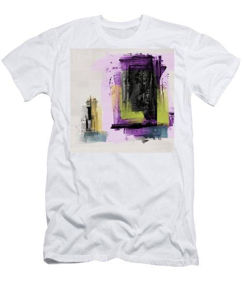 Men's T-Shirt (Athletic Fit) featuring the mixed media Secret Door by Eduardo Tavares