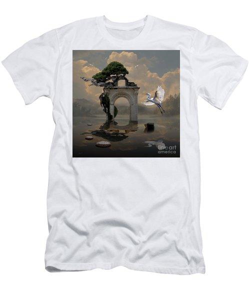 Secret Gate Men's T-Shirt (Athletic Fit)