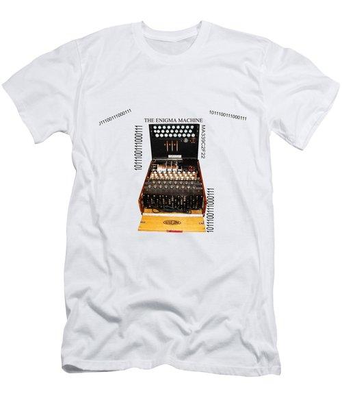 Secret Messages  Men's T-Shirt (Slim Fit) by Tom Conway