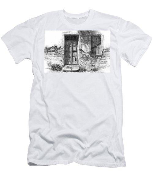 Secret Of The Closed Doors Men's T-Shirt (Athletic Fit)