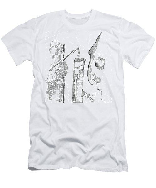 Secrets Of The Engineers Men's T-Shirt (Athletic Fit)