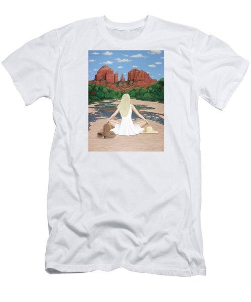 Sedona Breeze  Men's T-Shirt (Athletic Fit)