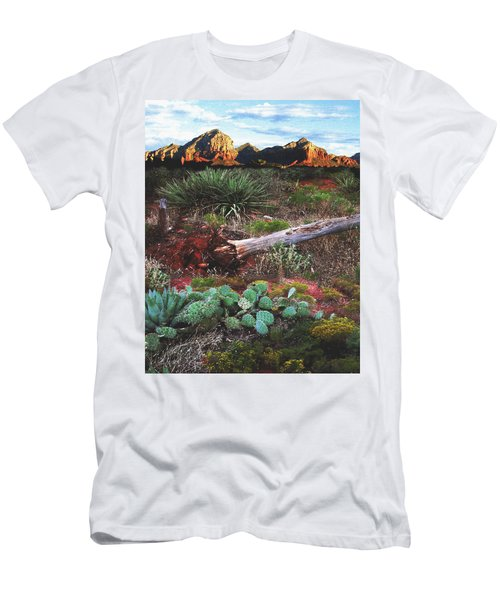 Sedona Mountain Sunrise Men's T-Shirt (Athletic Fit)