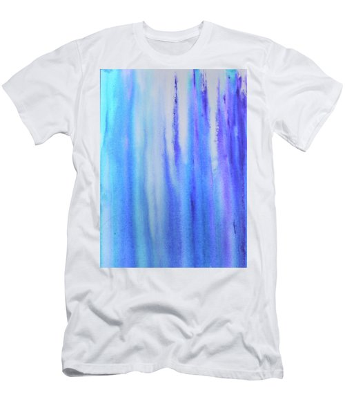 See Blue Sea Men's T-Shirt (Slim Fit) by Cyrionna The Cyerial Artist