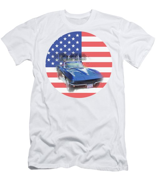 See The Usa Men's T-Shirt (Slim Fit)