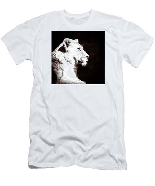 Seeing Double II Men's T-Shirt (Slim Fit) by Wade Brooks