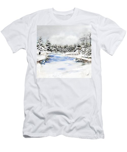 Seeley Montana Winter Men's T-Shirt (Athletic Fit)