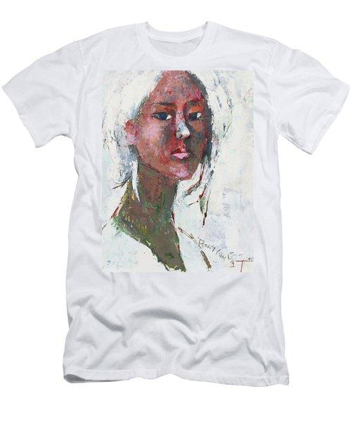 Self Portrait 1503 Men's T-Shirt (Slim Fit) by Becky Kim