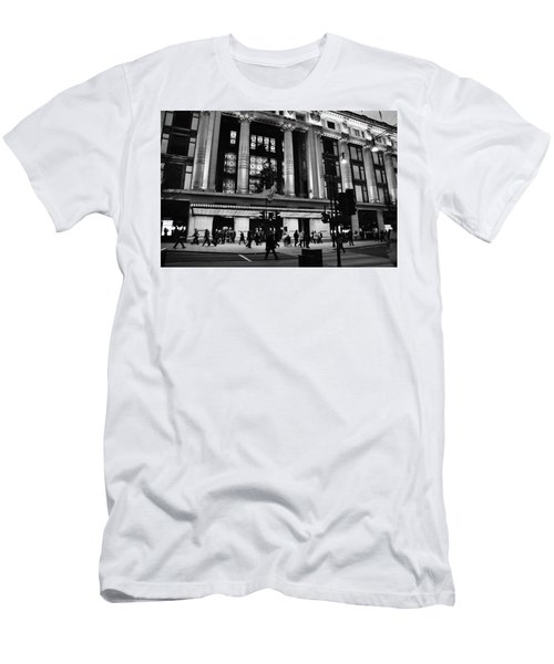 2d46aa32877 Selfridges Oxford Street Men's T-Shirt (Athletic Fit)