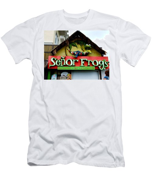 Senor Frogs Men's T-Shirt (Athletic Fit)