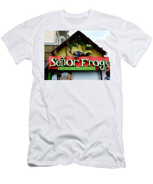 Senor Frogs Men's T-Shirt (Slim Fit)