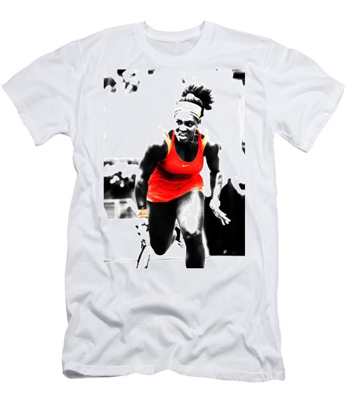 Serena Williams Go Get It Men's T-Shirt (Athletic Fit)