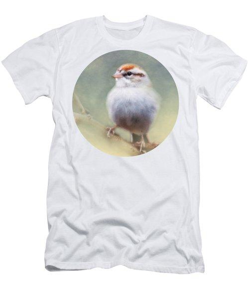 Serendipitous Sparrow  Men's T-Shirt (Athletic Fit)
