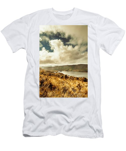 Serpentine Dam Tasmania Men's T-Shirt (Athletic Fit)