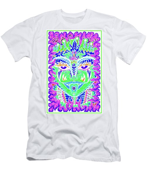 Serpentine Ellora - Inverted Men's T-Shirt (Athletic Fit)