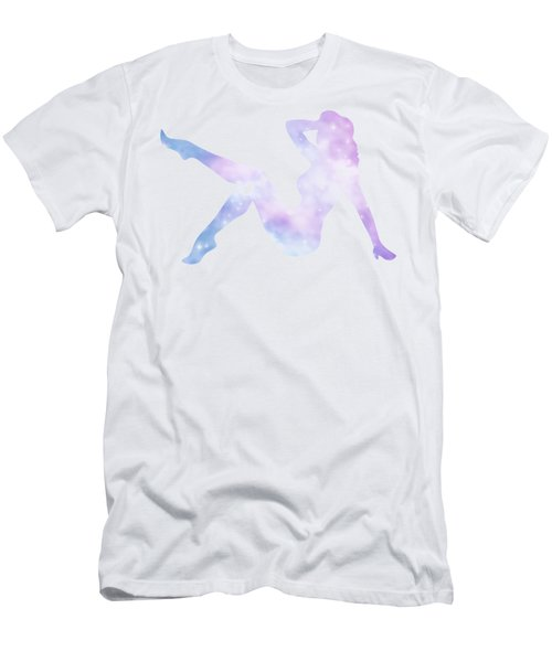 Sexy Silhouette Lady Men's T-Shirt (Athletic Fit)