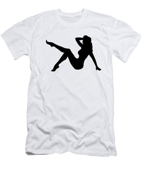 Sexy Trucker Girl Tee Men's T-Shirt (Athletic Fit)