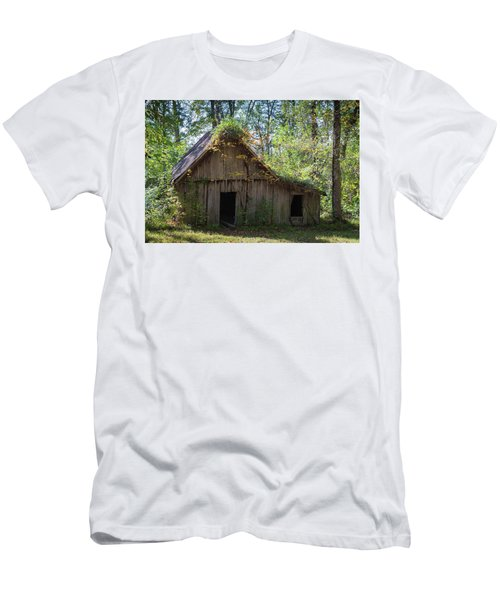 Shack In The Woods Men's T-Shirt (Athletic Fit)