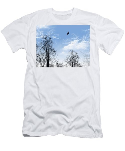 Men's T-Shirt (Slim Fit) featuring the painting Shadow by Trilby Cole