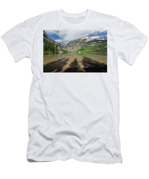 Shadows Men's T-Shirt (Slim Fit) by Alpha Wanderlust