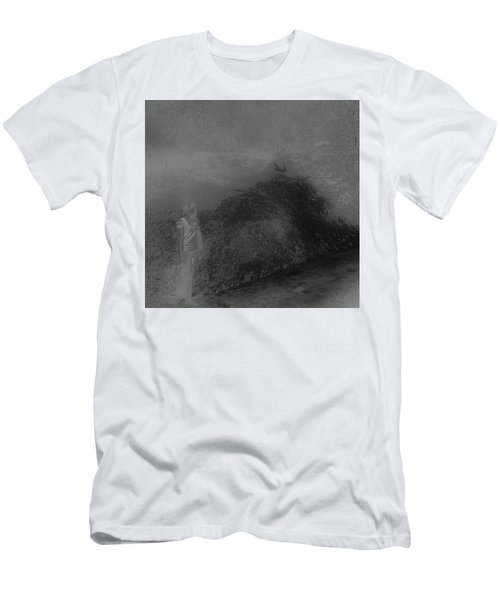 Men's T-Shirt (Athletic Fit) featuring the photograph Shadows by EDi by Darlene