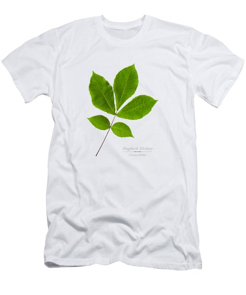 Men's T-Shirt (Slim Fit) featuring the photograph Shagbark Hickory by Christina Rollo