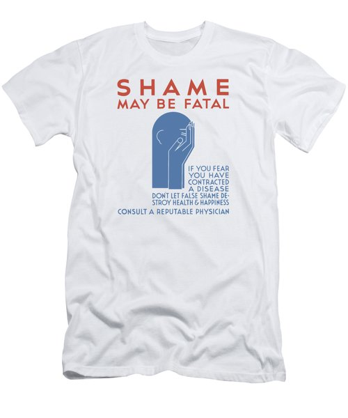 Shame May Be Fatal - Wpa Men's T-Shirt (Athletic Fit)