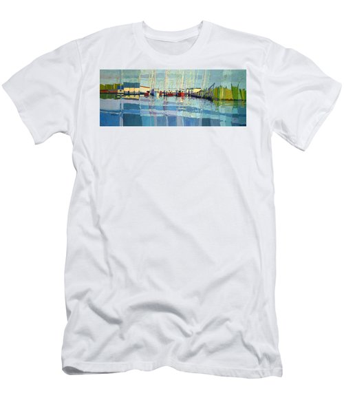 Shark River Inlet Men's T-Shirt (Athletic Fit)